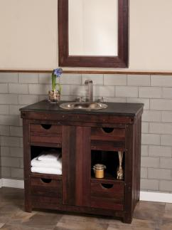 Single Bathroom Vanities on 36 Inch Single Sink Bath Vanity In Cabernet Uvntvnw3643