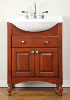 30 Inch Narrow Depth Console Bath Vanity Custom Options