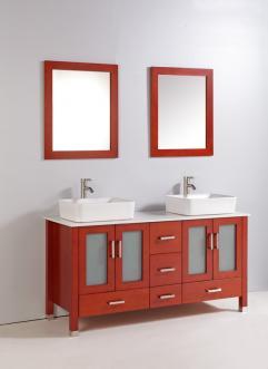 Bathroom Vanities Double Sink on 59 Inch Double Sink Bathroom Vanity With Extra Storage Uvlfwa3859cc59