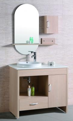 39 Inch Single Sink Bath Vanity In Light Maple Uvlfwth9020r39