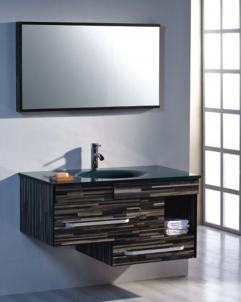 39 5 Inch Modern Floating Bathroom Vanity Set With Mirror On Sale